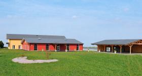 La salle et annexe du Domaine du Bois de l'Arc - Août 2017